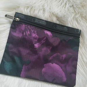 LeSportSac small violet floral bag